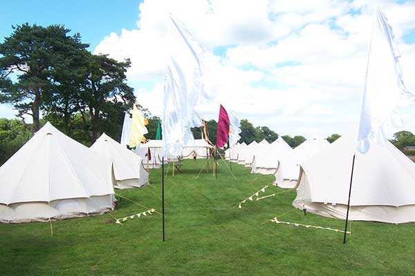 R- ... & Luxury bell tent hire - Red Sky Tent Co