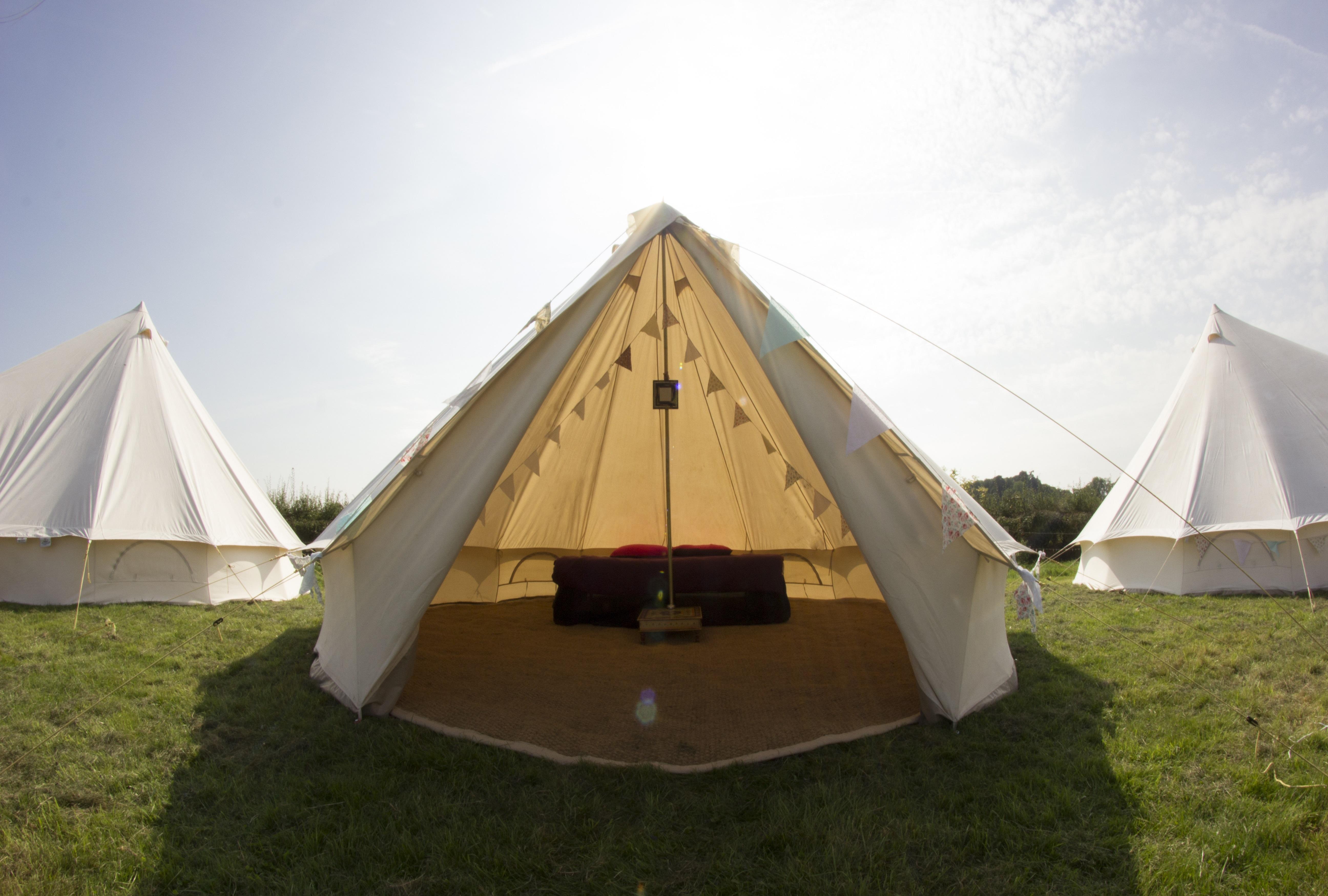 llangollen camping tents